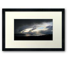 Snowstorm coming, Bantry Bay Framed Print