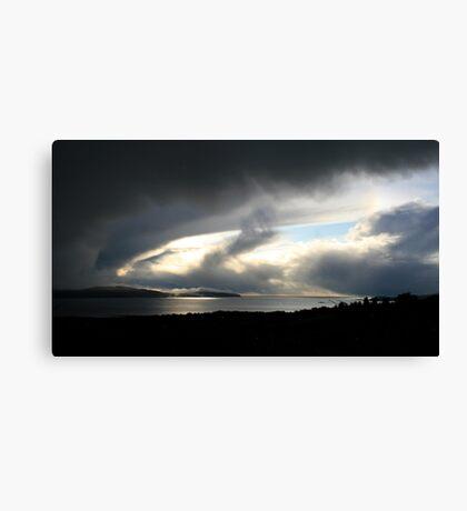 Snowstorm coming, Bantry Bay Canvas Print