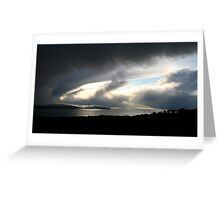 Snowstorm coming, Bantry Bay Greeting Card