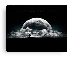 The Rise of a Planet II Canvas Print