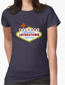 Viva Jaynestown, inspired by Firefly Womens Fitted T-Shirt