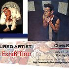 Chris Baker's Solo Exhibition Banner by solo-exhibition