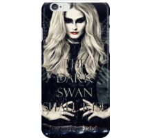 Once Upon A Time The Dark Swan Shall Rise iPhone Case/Skin
