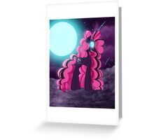 Nightmare Pinkie Pie Greeting Card