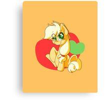 Chibi Apple Jack Canvas Print