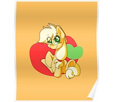 Chibi Apple Jack Poster