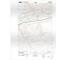 USGS Topo Map Washington Sundale 20110903 TM Poster