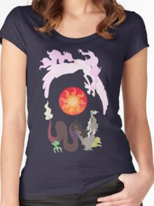Of Chaos and Harmony Women's Fitted Scoop T-Shirt
