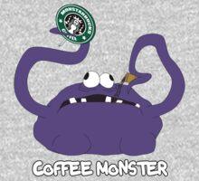Coffee Monster One Piece - Long Sleeve