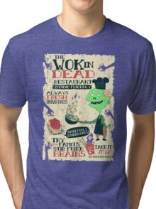 The Wok In Dead Tri-blend T-Shirt