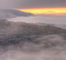 Play Misty For me - Merlins Lookout, Hill End - The HDR Experience by Philip Johnson