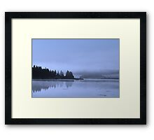 Serene waterscape Framed Print