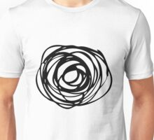 Trendy circle doodle pattern  Unisex T-Shirt
