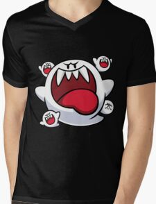 Flock of Boo Mens V-Neck T-Shirt
