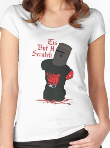 Black Knight - Tis But A Scratch Women's Fitted Scoop T-Shirt