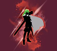 Super Smash Bros. Red Lucina Silhouette Unisex T-Shirt