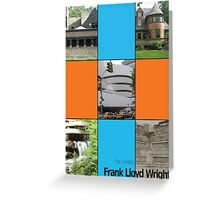 Frank L. Wright Cover (Mock) Greeting Card