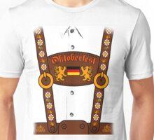 Oktoberfest Lederhosen Costume Unisex T-Shirt