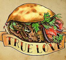 One Love Kebab by Miskel Design