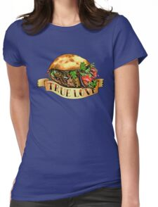 One Love Kebab Womens Fitted T-Shirt