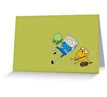 Finn and Jake. Greeting Card
