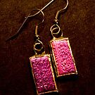 Dichroic Glass - Purple Mosaic by Amy Matsumoto
