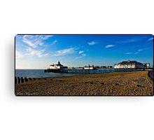 Eastbourne Pier Canvas Print