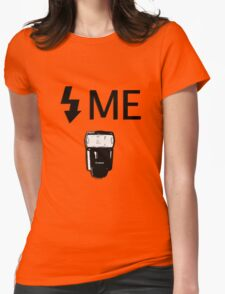 Flash Me Womens Fitted T-Shirt
