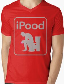 iPood Mens V-Neck T-Shirt