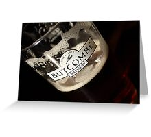 Bitter - Butcombe Beer Greeting Card