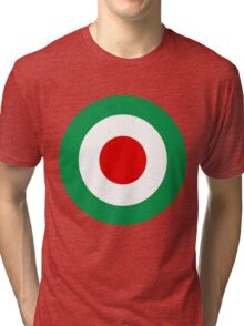 Target Italy Red White Green Tri-blend T-Shirt