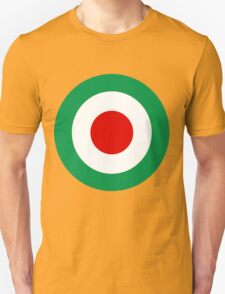 Target Italy Red White Green Unisex T-Shirt
