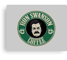 Swanson Coffee Canvas Print