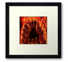 Rebirth - Waking the Demon  Framed Print