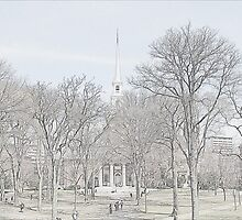 Memorial Church - Harvard Yard by Cheeky-Chango