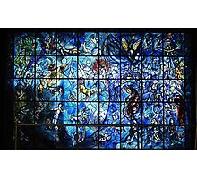 Chagall Stained Glass  Photographic Print