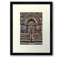 St Giles Cathedral Edinburgh Main Entrance Framed Print