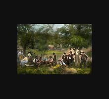 Civil War - Gettysburg camp of Captain Huft 1865 Unisex T-Shirt
