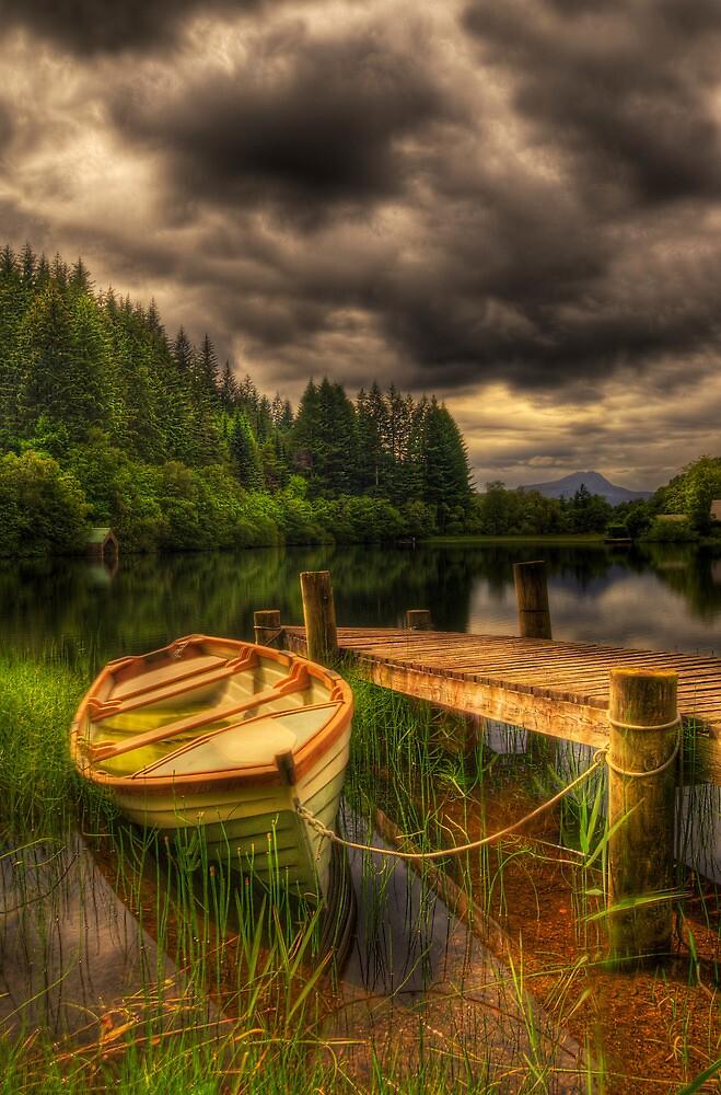 Loch Ard Jetty by Don Alexander Lumsden (Echo7)