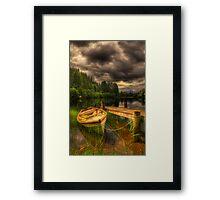 Loch Ard Jetty Framed Print