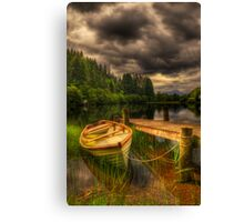 Loch Ard Jetty Canvas Print