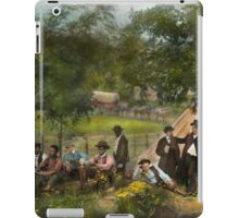 Civil War - Gettysburg camp of Captain Huft 1865 iPad Case/Skin