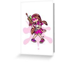 WaterGun Greeting Card