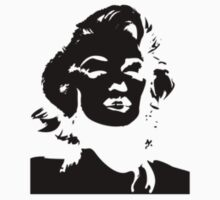Monroe Black - Sticker by Thomas Wells