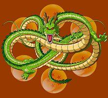 Dragon Ball Z Shenron by J. Danion