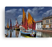 Full Sails Canvas Print
