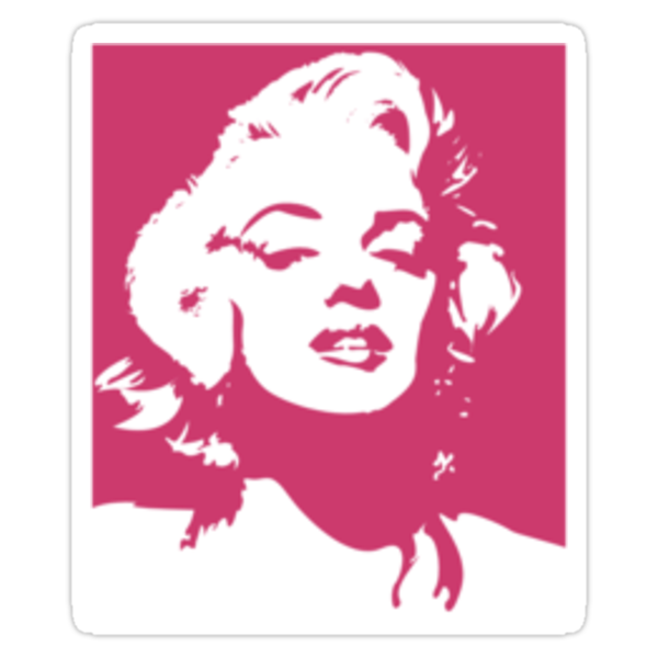 Monroe - Sticker by Thomas Wells