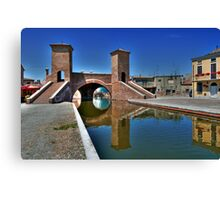 Trepponti - Three Bridges Canvas Print