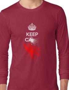 Keep Calm - Splat! Long Sleeve T-Shirt