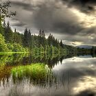 Loch Ard Reflections by Don Alexander Lumsden (Echo7)